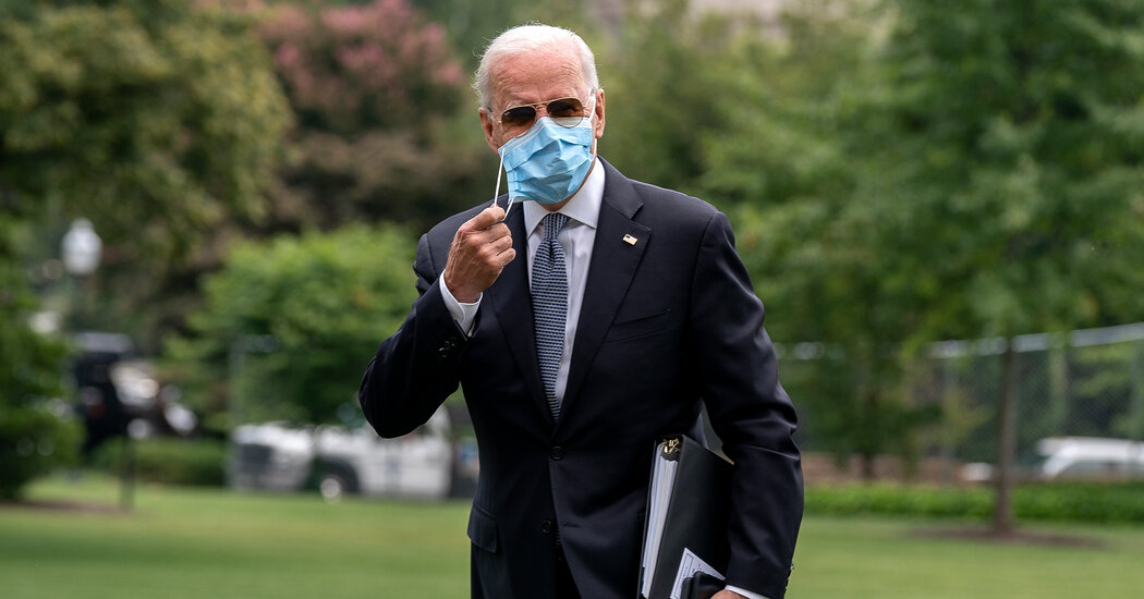 Biden Expected to Highlight Effort to Ship Vaccines Abroad