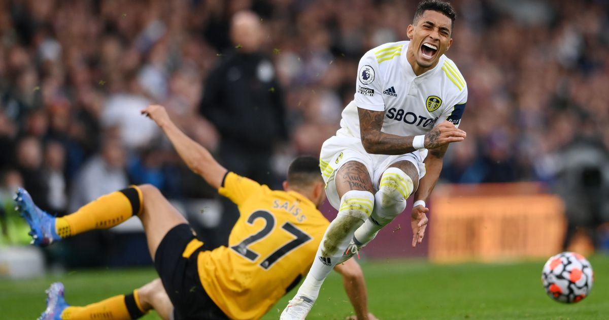 Raphinha updates Leeds United fans on injury after Wolves scare