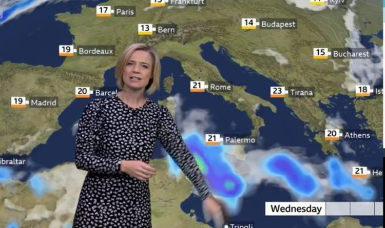 BBC Weather: Italy to face further flooding issues as Europe battered by slow moving rain | Weather | News