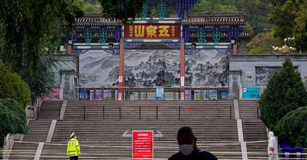 China Locks Down City of 4 Million to Subdue Covid Outbreak
