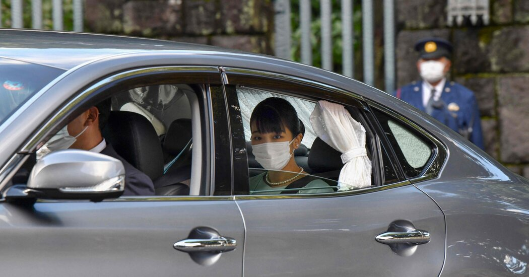 Royal Wedding in Japan Goes Off With Little Fanfare