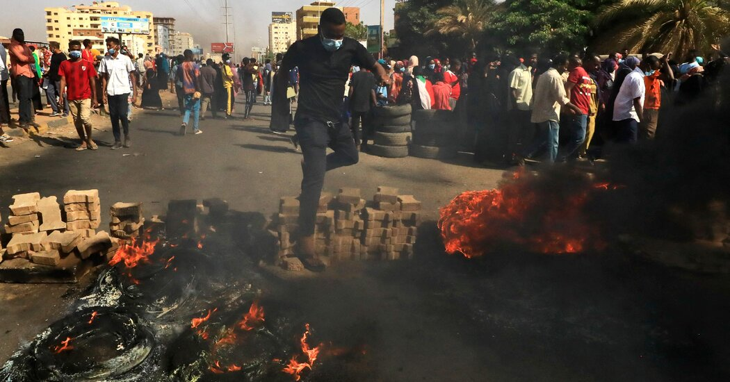 Troops opened fire on pro-democracy protesters who flooded the streets, with at least two reported killed.