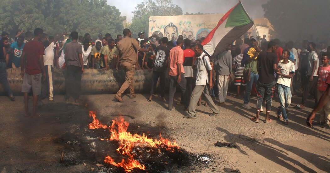 U.S. Halts Aid to Sudan Government After Coup