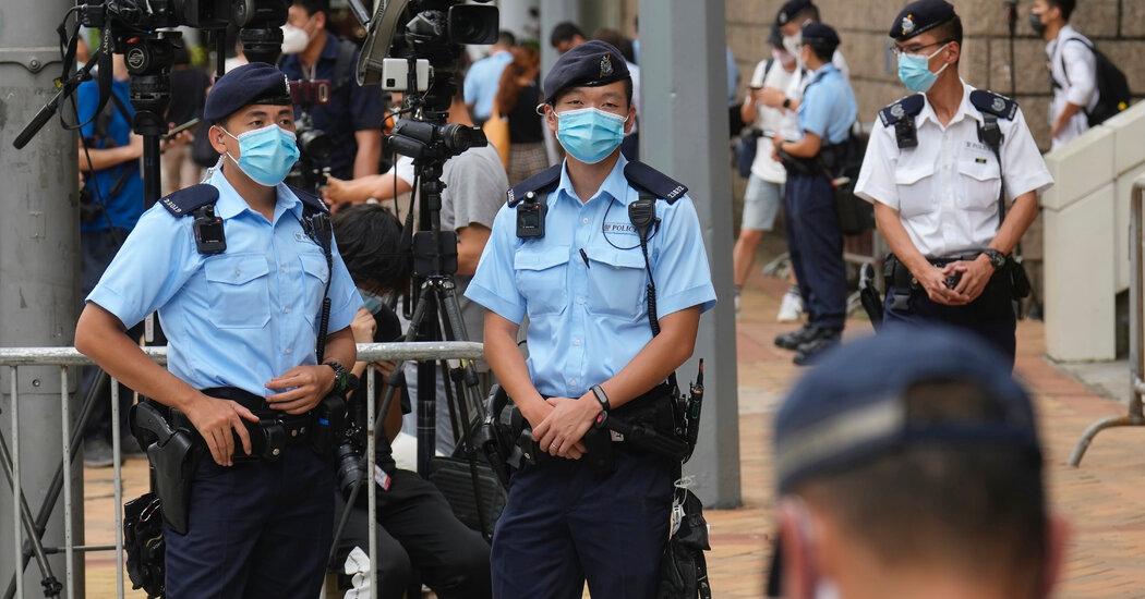 With New Conviction, Hong Kong Uses Security Law to Clamp Down on Speech
